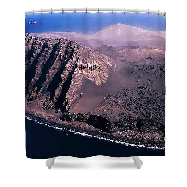 Surtsey In Iceland Shower Curtain