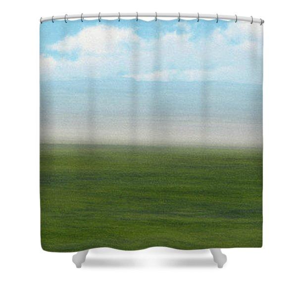 Survivor Shower Curtain by Richard Rizzo