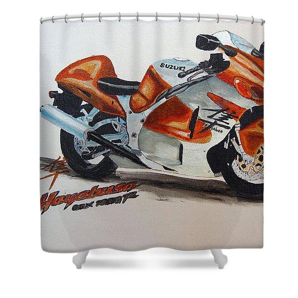 Suzuki Hayabusa Shower Curtain