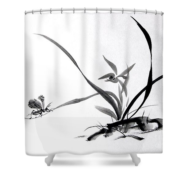 Suzumushi/ Sounds Of Fall Shower Curtain