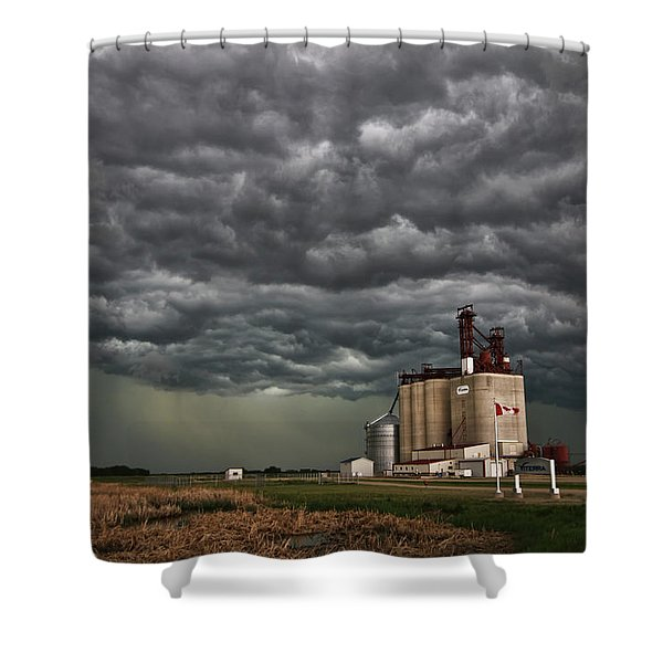 Swallowed By The Sky Shower Curtain