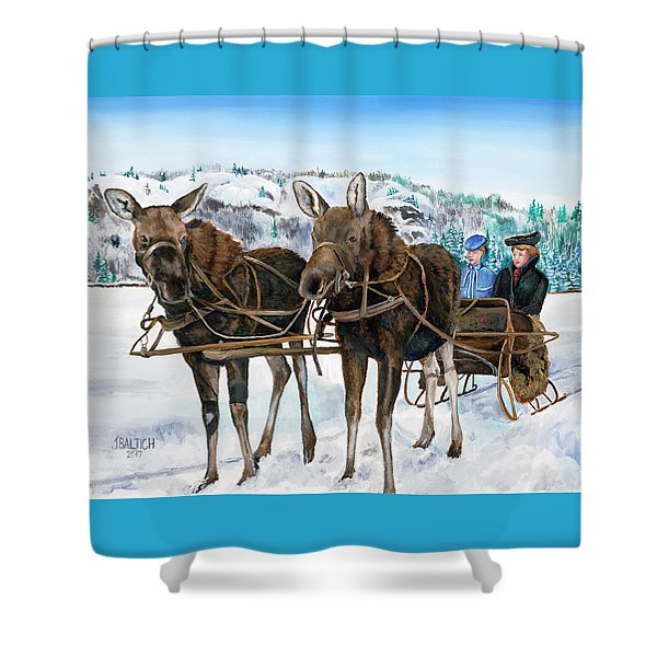 Swamp Donkies Shower Curtain