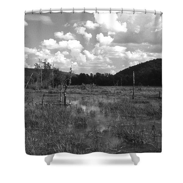 Swampoem Shower Curtain