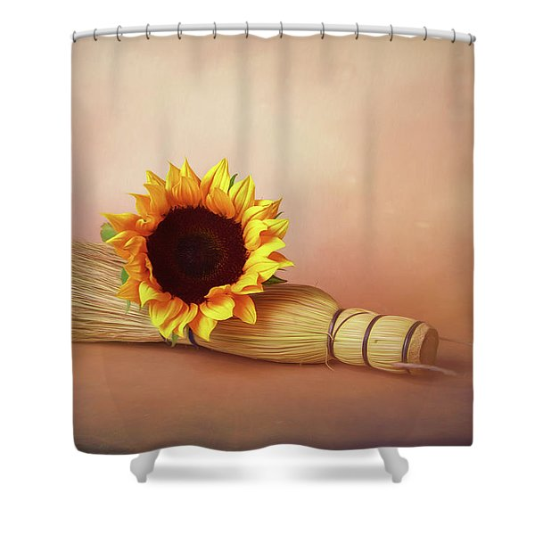 Sweet And Simple Shower Curtain