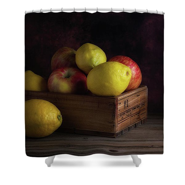 Sweet And Sour Fruits Still Life Shower Curtain