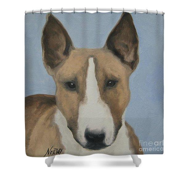 Sweet Bully Face Shower Curtain