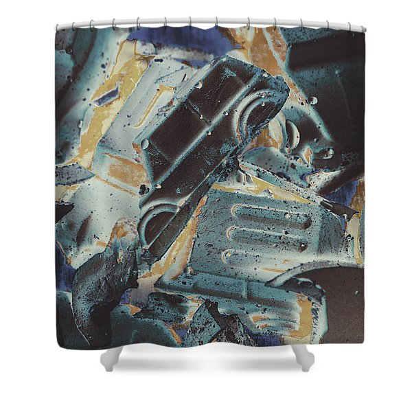 Sweet Destruction Shower Curtain
