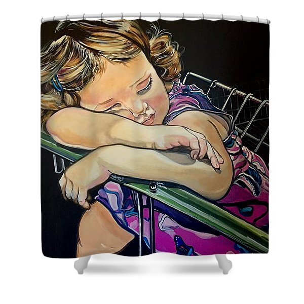Sweet Dreams, Geo Shower Curtain