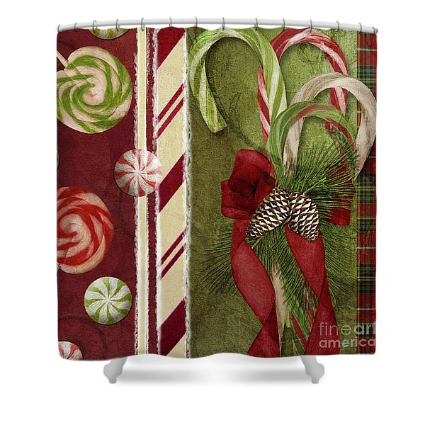 Sweet Holiday I Shower Curtain