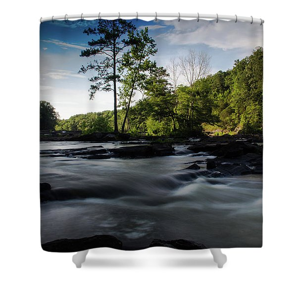 Sweetwater Creek 1 Shower Curtain