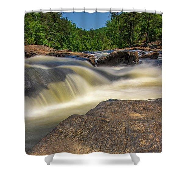 Sweetwater Creek Long Exposure 2 Shower Curtain