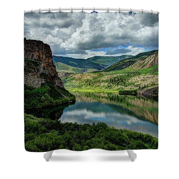 Sweetwater Lake 2 Shower Curtain