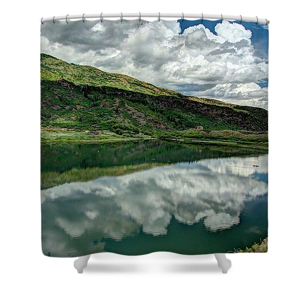 Sweetwater Lake 3 Shower Curtain