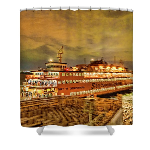 Swing The Tail Shower Curtain