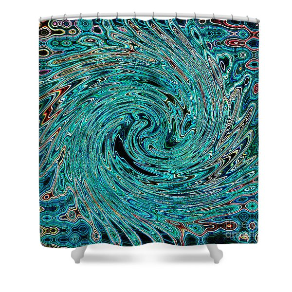 Swirl Abstract 4 Shower Curtain