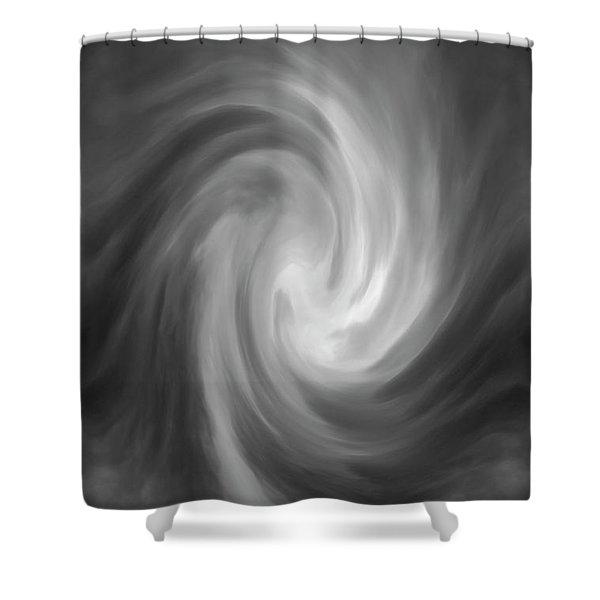 Swirl Wave Iv Shower Curtain