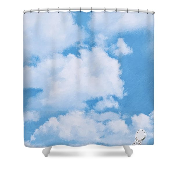 Swiss Lanes Shower Curtain