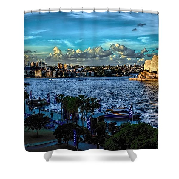 Sydney Harbor And Opera House Shower Curtain
