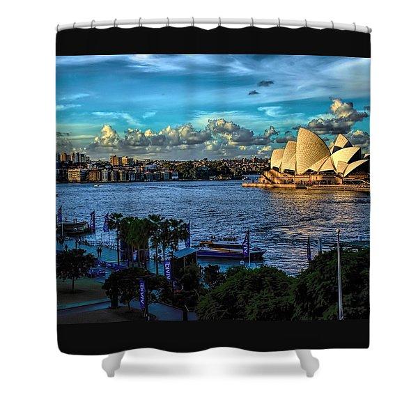 Sydney Harbor And Opera House Shower Curtain