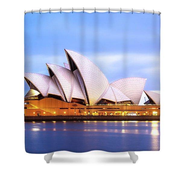 Sydney Opera House At Dawn Shower Curtain