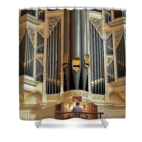 Sydney Town Hall Organ Shower Curtain