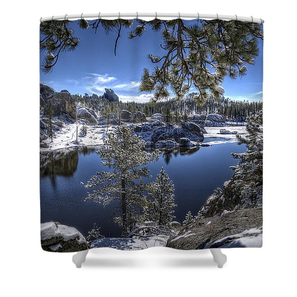 Sylvan Lake Shower Curtain