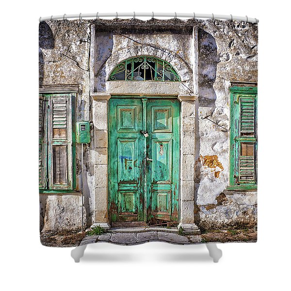 Symi Shower Curtain