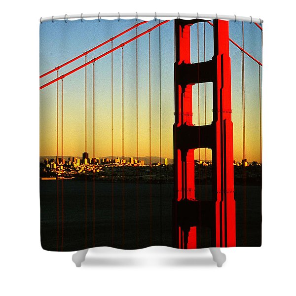 Symphonie In Steel Shower Curtain
