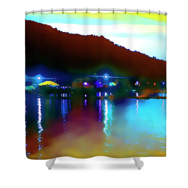 Symphony River Shower Curtain