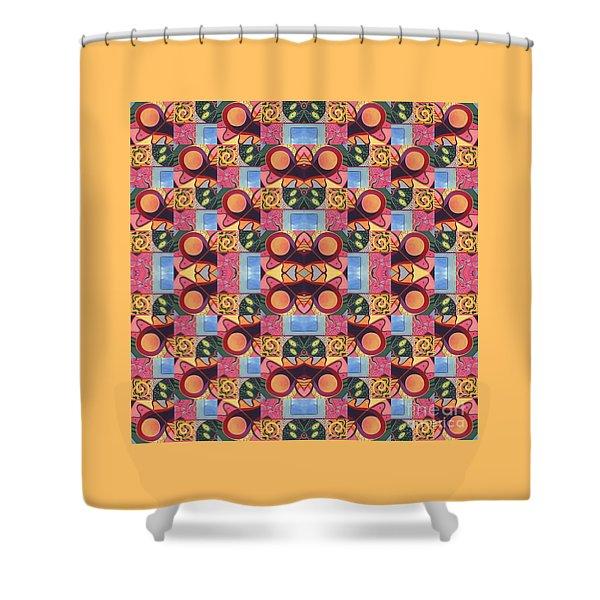 Synchronicity - A  T J O D 1 And 9 Arrangement Shower Curtain