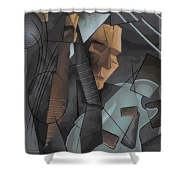 Syncopation Shower Curtain
