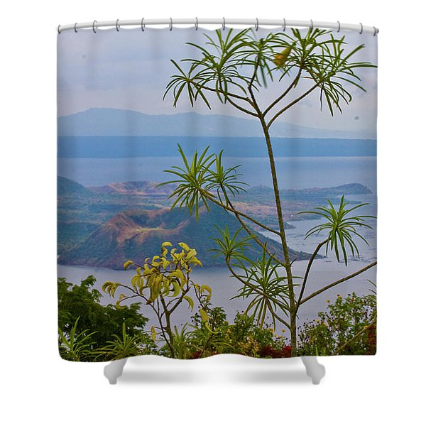 Taal Shower Curtain