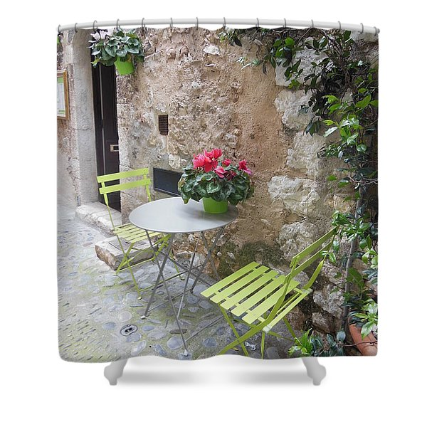 Table For Two Shower Curtain