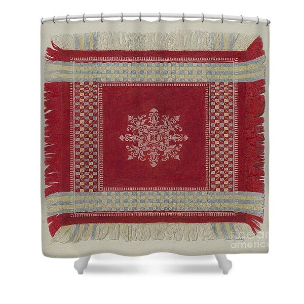 Table Napkin Shower Curtain