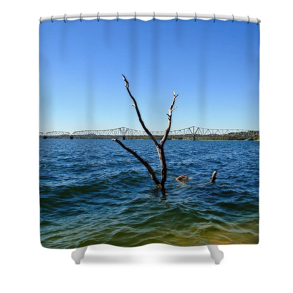 Table Rock Lake Kimberling City Shower Curtain