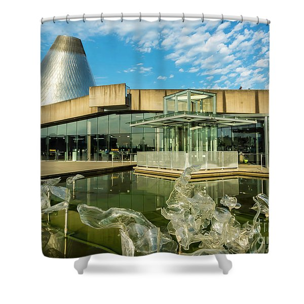 Tacoma's Museum Of Glass  Shower Curtain