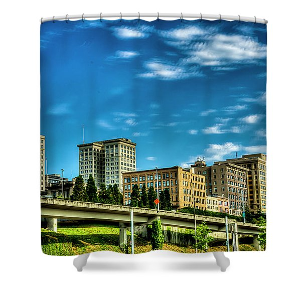 Tacoma,washington.hdr Shower Curtain