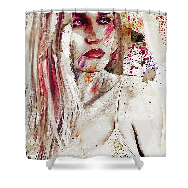 Taction Shower Curtain