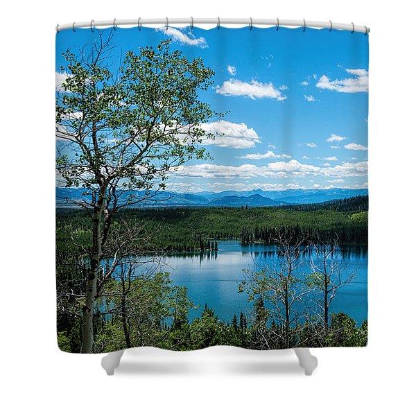 Taggart Lake Shower Curtain