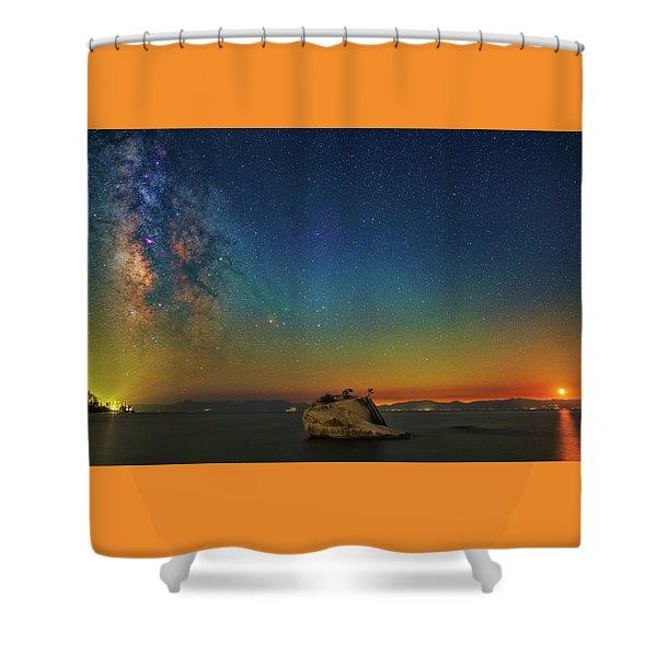 Tahoe Nights Shower Curtain