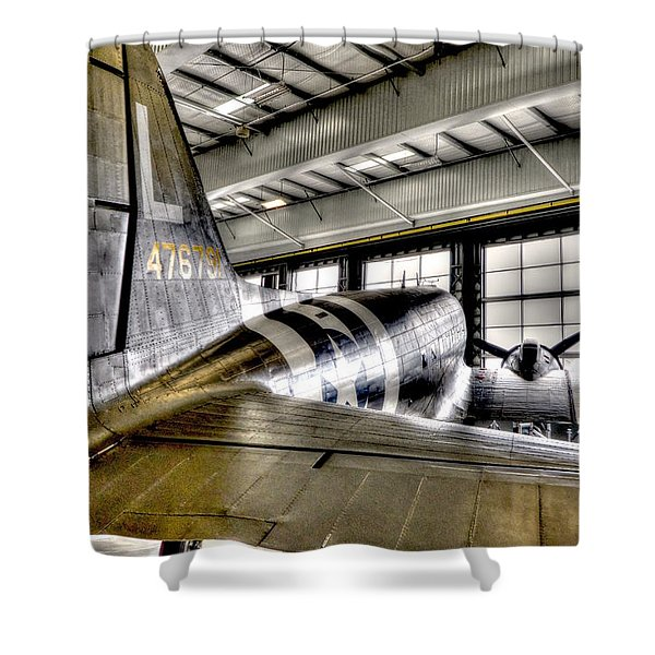 Tail Wind Shower Curtain