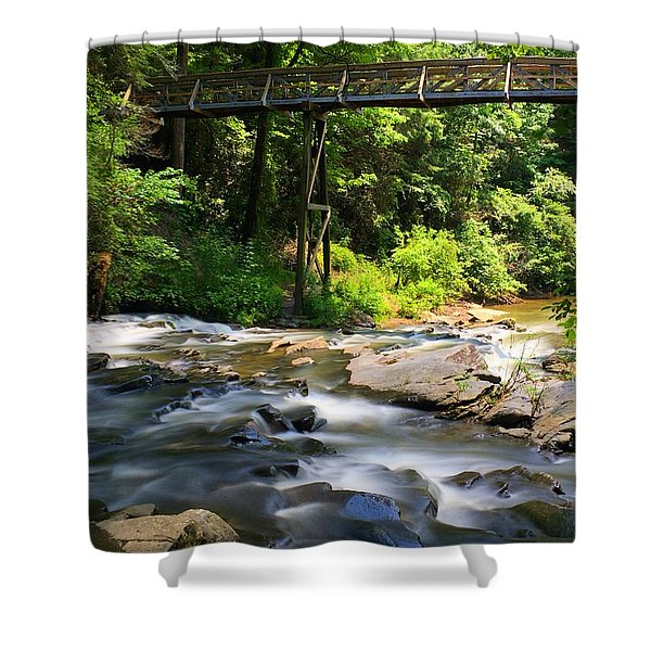 Tails Creek Shower Curtain