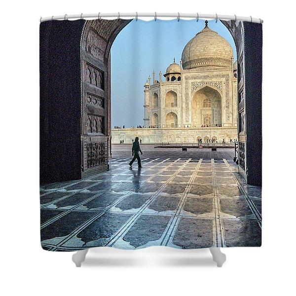 Taj Mahal 01 Shower Curtain