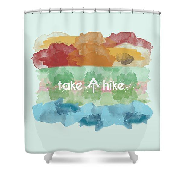 Take A Hike Appalachian Trail Shower Curtain