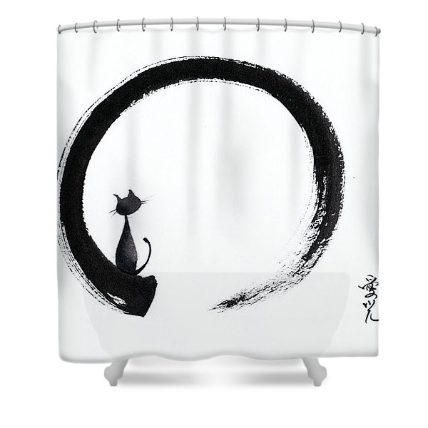 Take A Tranquil Look Shower Curtain