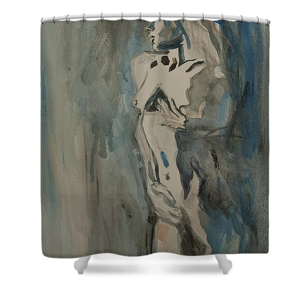 Take It Easy On Me Shower Curtain