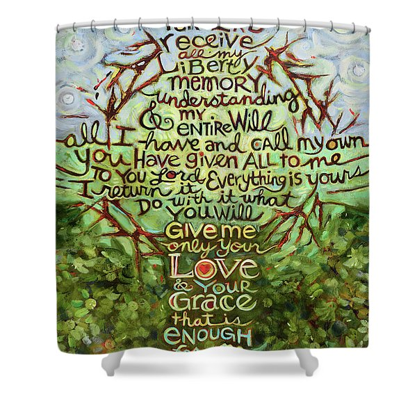Take Lord, Receive Shower Curtain