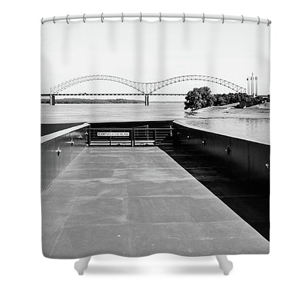 Take Me To The River  Shower Curtain