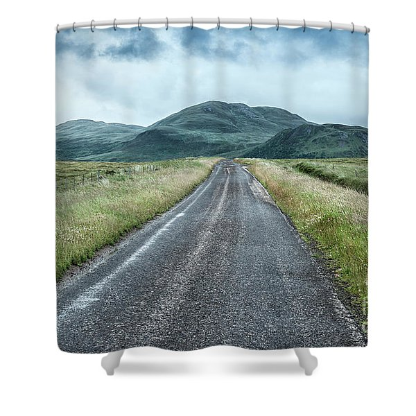Take Me To The Valley Shower Curtain