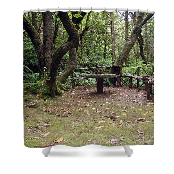 Take Sit And Rest Shower Curtain